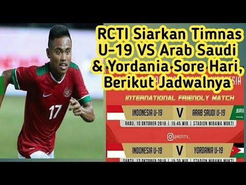 Jadwal Ujicoba Timnas U-19 Indonesia vs Arab Saudi & Yordania Jelang Piala Asia U-19 2018