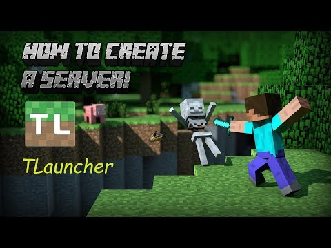 How To Make Your Own Minecraft 1.14.4 Server! [TLauncher/cracked]