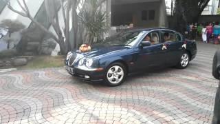 Jaguar stype 2001.wedding car