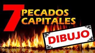 7 PECADOS CAPITALES DEL DIBUJO