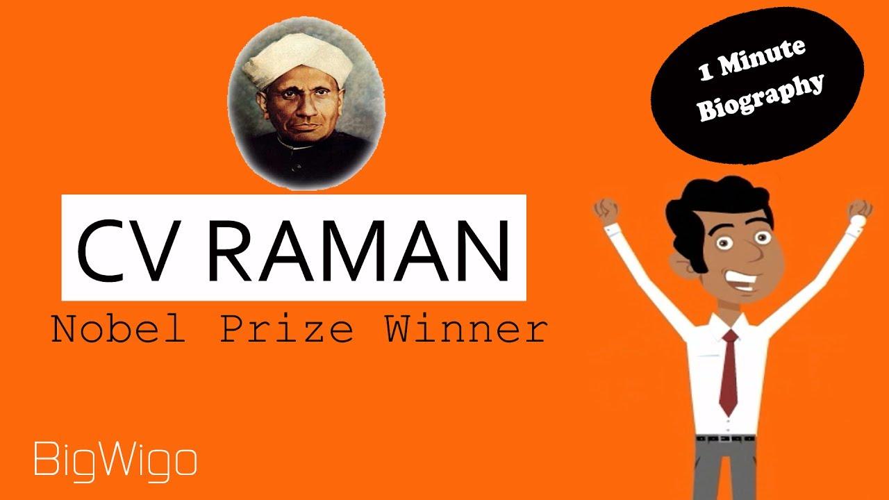 short biography of cv raman