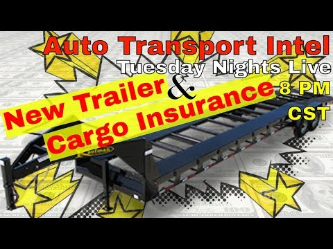 Auto Transport: New Car Hauling Trailer & Commercial Vehicle Insurance