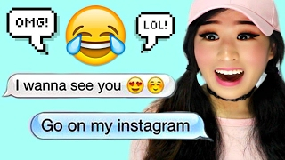 Reacting To Funniest Flirty Texts!!