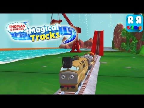 Thomas and Friends: Magical Tracks - Kids Train Set - Play with Diesel 10