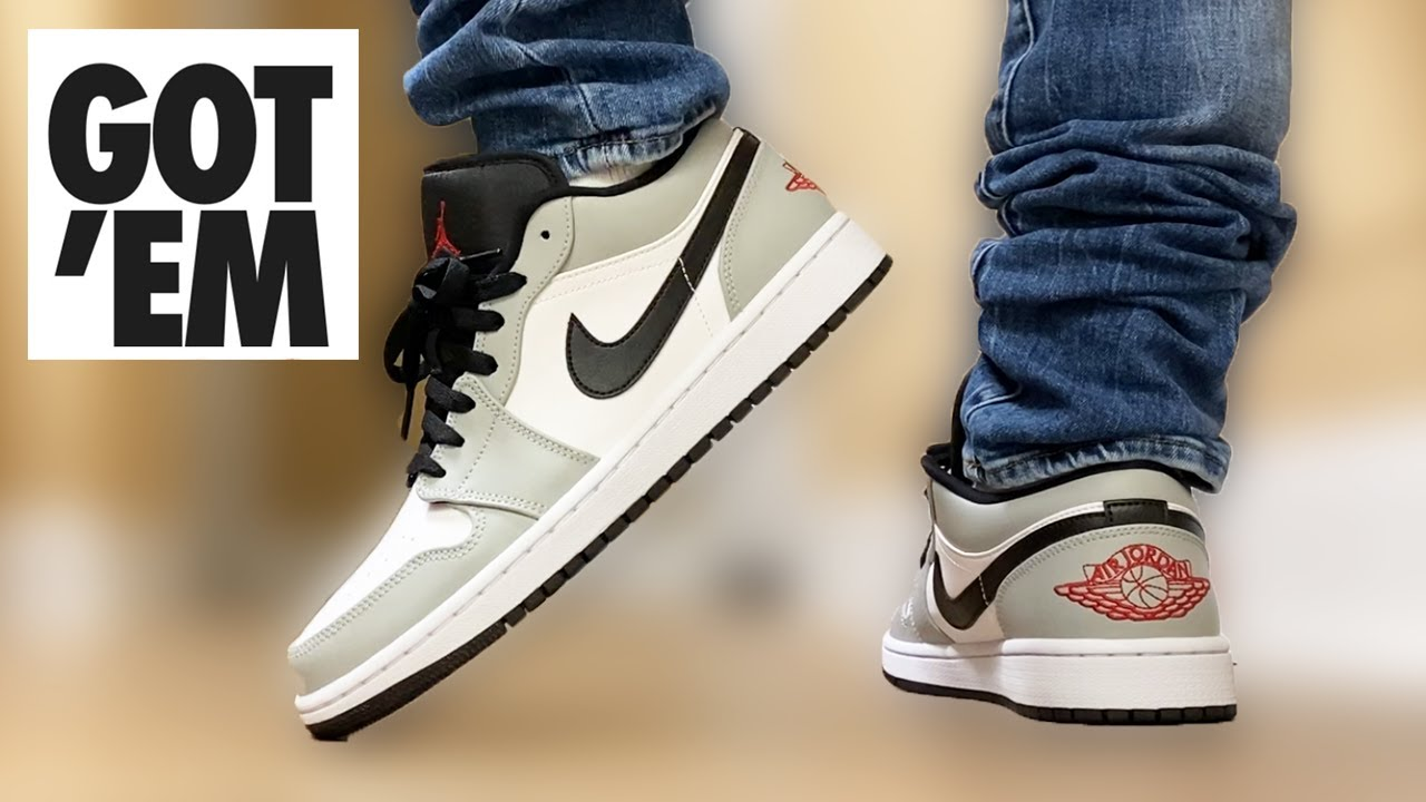 SHOE of the FALL? Jordan 1 LOW Light Smoke Grey ON FEET!