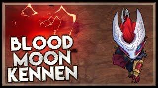 Blood Moon Kennen - Skin Spotlight - League of Legends