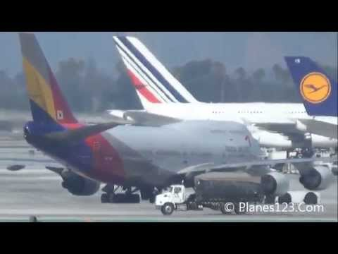 Plane Spotting @ LAX Part 46