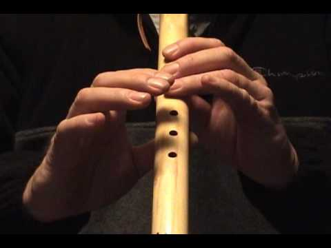 House of The Rising Sun, 5 or 6 Hole Flute,, How to Play on the Native American Flute