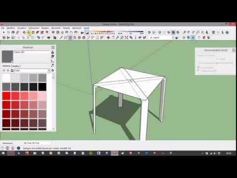 Creare In Sedia Un Sketchup Youtube Minuto 8Ok0wPn