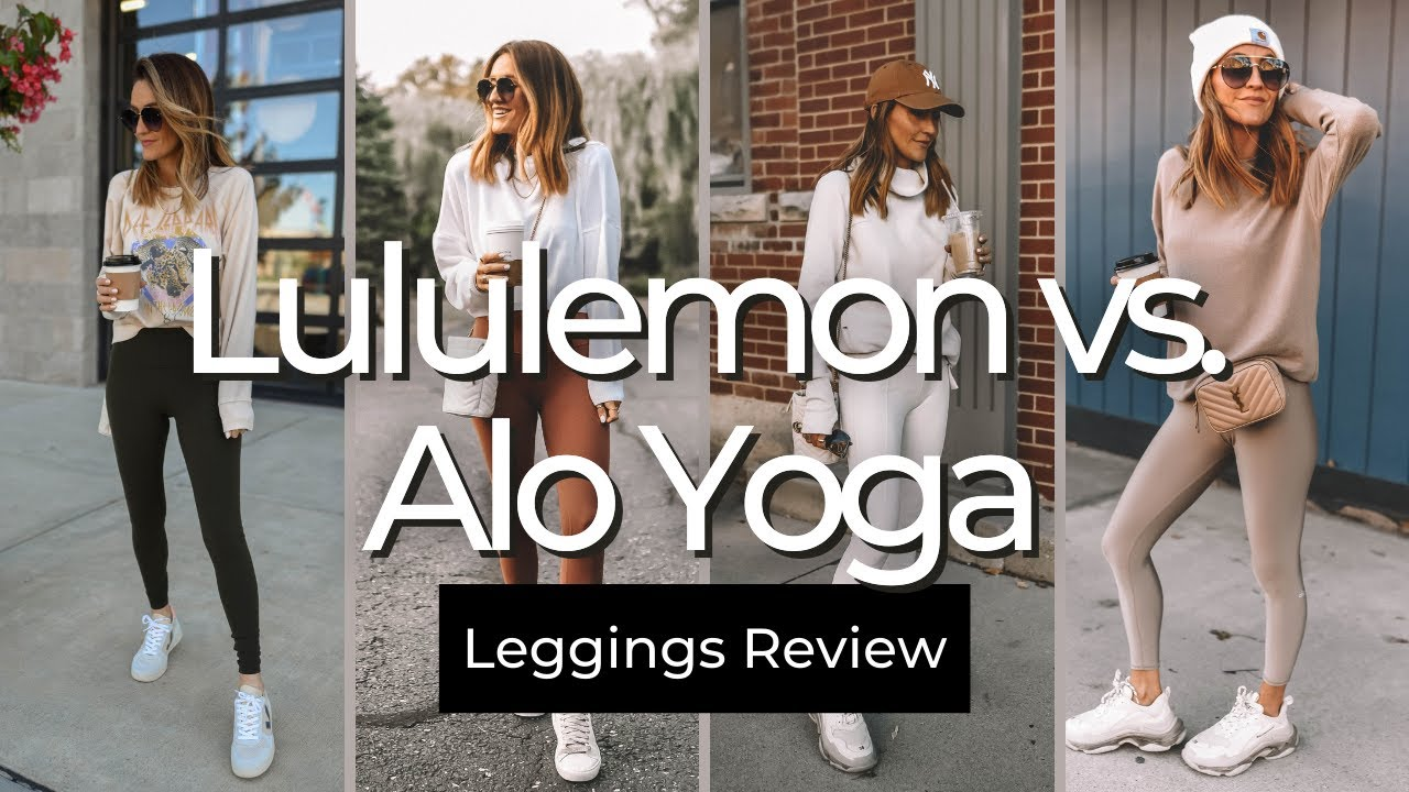 Lululemon vs. Alo Yoga Leggings / Pros and Cons + Overall Review