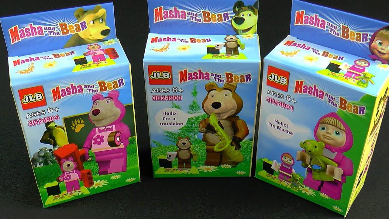 Lego маша и медведь