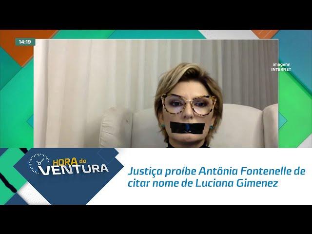 Justiça proíbe Antônia Fontenelle de citar nome de Luciana Gimenez publicamente