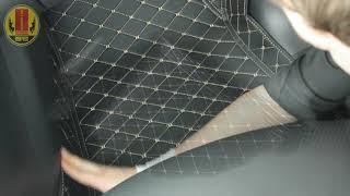 Single Layer 3D car floor mats installation