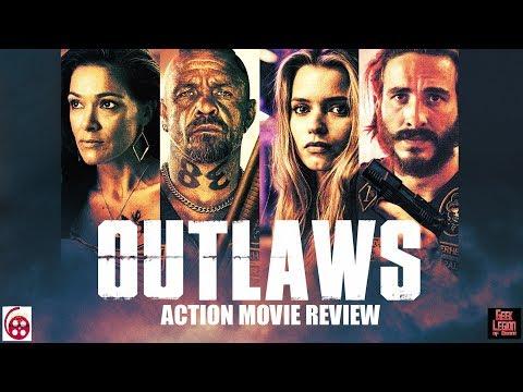 OUTLAWS ( 2017 Ryan Corr ) Aka 1% . Biker Gang Action Movie Review