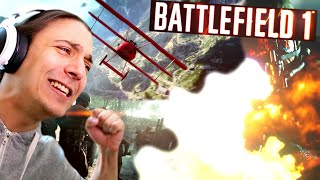 reacting to the battlefield 1 trailer