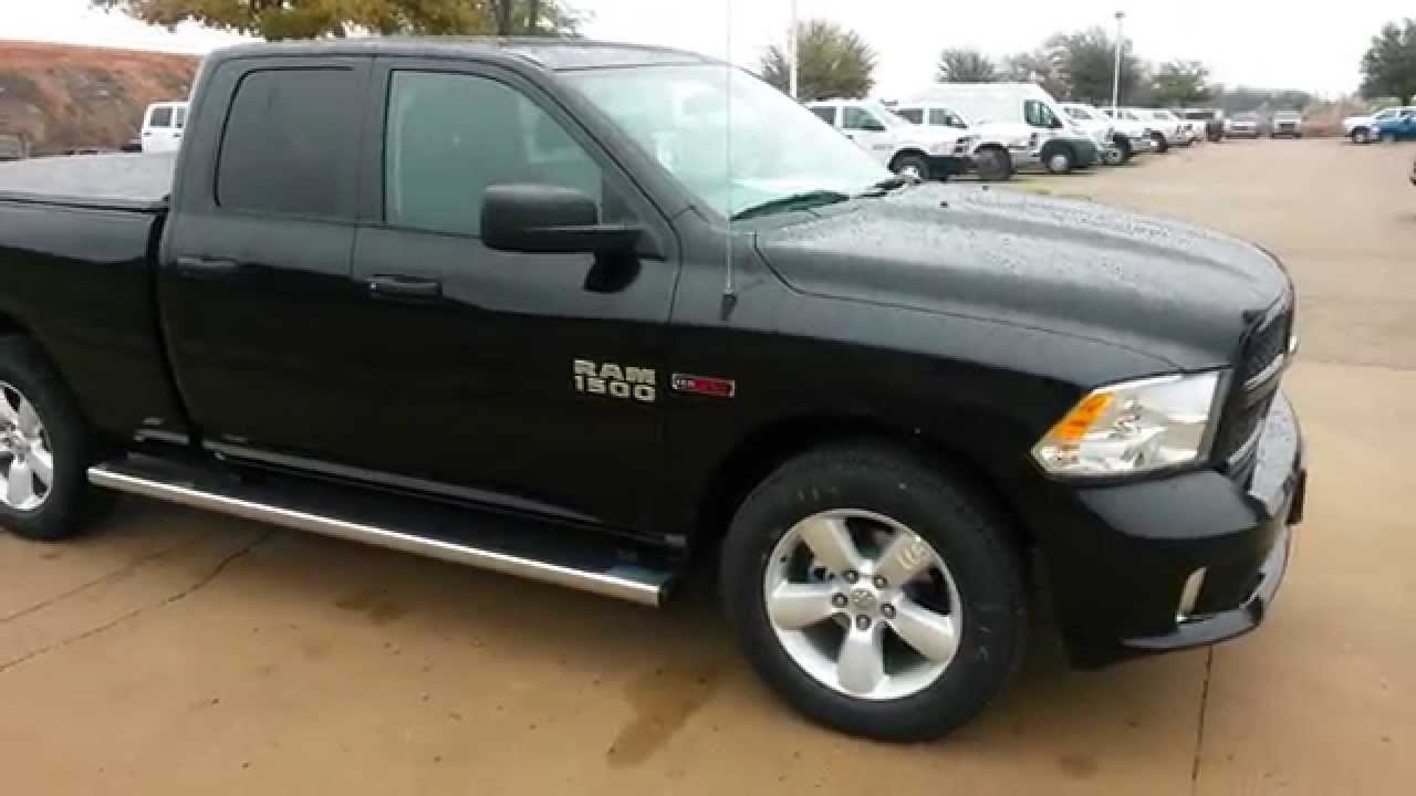 New 2015 Ram 1500 HFE Eco Diesel Quad Cab Truck TDY Sales  YouTube