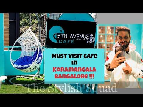 VLOG on 5TH AVENUE CAFE | Best Cafe In Koramangala, Bangalore | The Stylish Squad
