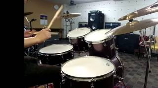 sixpence none the richer - kiss me (drum cover)