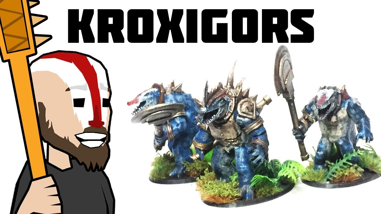 DIY Kroxigors Download in description  YouTube