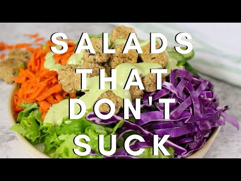 How to Make a Satisfying Salad