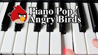 Angry Birds Theme Song Piano Lesson Easy Piano Tutorial
