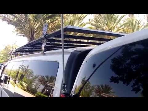 Roof Rack Install on Stealth Van