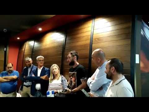 Entrega del premio Dxt-Víctor Gómez Lage a Dani Giménez
