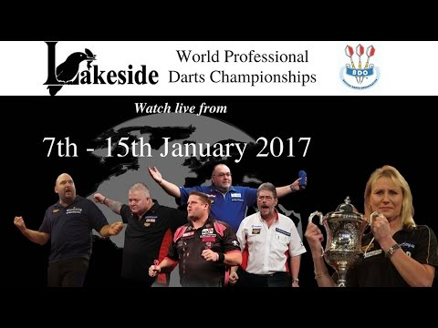 Lakeside World Darts Championship 2017  - Sunday January 15 The Final