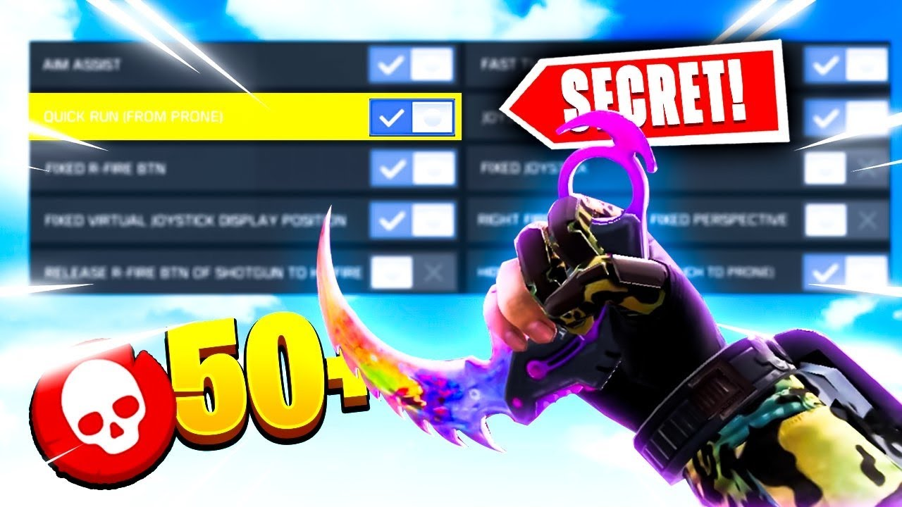 This SECRET SETTING makes you have HACKER SPEED! (RANKED GAMEPLAY!) COD Mobile
