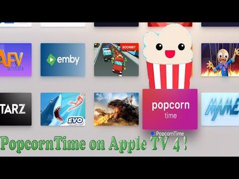 PopcornTime App on Apple TV 4 !