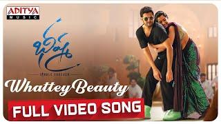 Whattey Beauty Full Video Song | Bheeshma Video Songs | Nithiin, Rashmika | Mahati Swara Sagar Thumb
