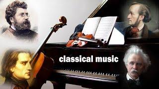 4 композитора Бизе, Лист, Григ, Вагнер. Лучшая классическая музыка Слушать онлайн. #classicalmusic