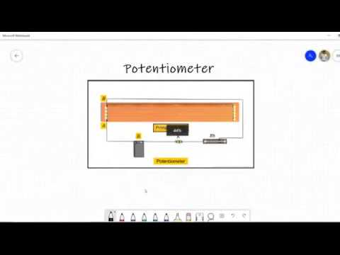 Potentiometer Class 12 | Potential Gradient, emf of two ...