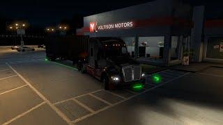 American Truck Simulator EP #4| Rain Rain Go Away