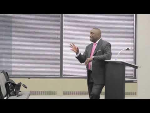 Motivational Speaker Mark Anthony Garrett (Building Trust) Teacher Training