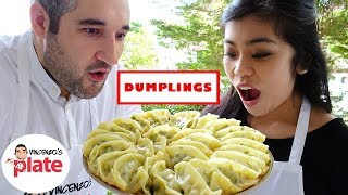 HOW TO MAKE CHINESE DUMPLINGS | Chinese Street Food | Tasty Homemade Dumpling from China