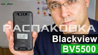 Blackview BV5500 - Розпакування і перше враження від смартфона з IP68 за $100