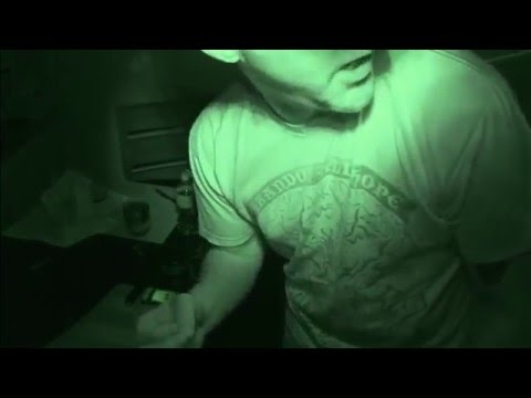 REAL MIDNIGHT MAN Ritual Devil Caught on Tape