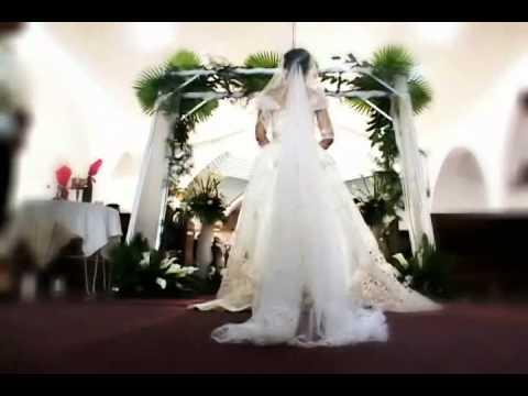 Neil and Mec Church Wedding Ceremony FULL Entourage