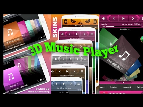 3D Music Player for Android  2017
