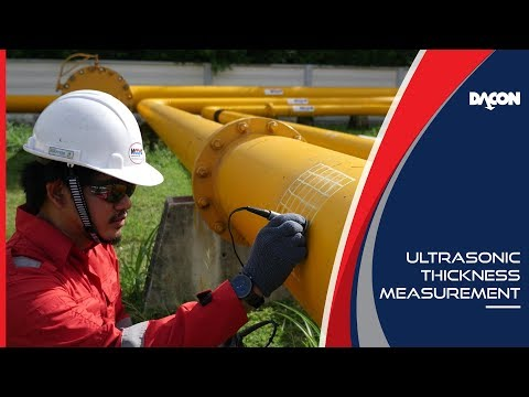 Ultrasonic Thickness Measurement (UTM) - NDT Inspection