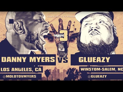 DANNY MYERS VS GLUEAZY SMACK/ URL RAP BATTLE