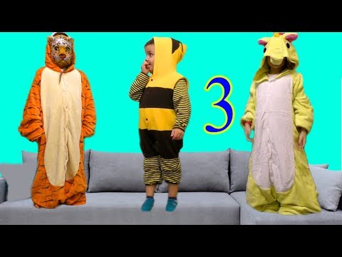 3 little monkey jumping on the bed Nursery rhymes for kids