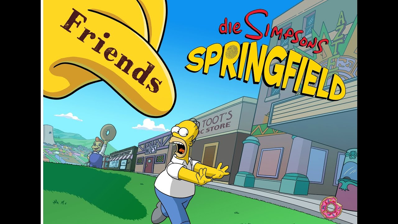 the simpsons springfield freunde