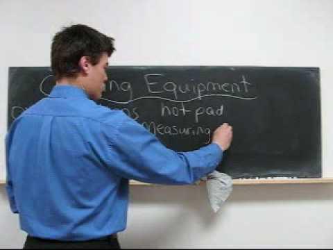 Learn English Free Study Lesson 84 -  Cooking Equipment Speak, Talk, Read, Write