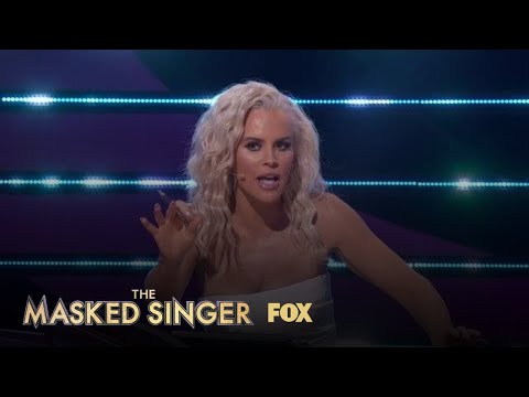 Jenny Proposes Turtle Could Be Chris Evans   Season 3 Ep. 10   THE MASKED SINGER