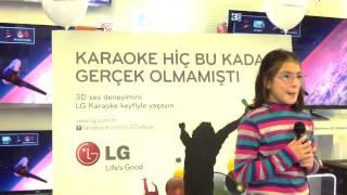 LG ile Karaoke Keyfi (01 Aralık Cevahir AVM Teknosa Yarışmacıları)