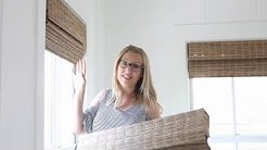 SelectBlinds.com - Goodhousekeeping Woven Wood Shades in Jute Wheat
