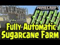 Minecraft PS4, PS3, Xbox - Fully Automatic Sugarcane Farm! Easy Tutorial Guide