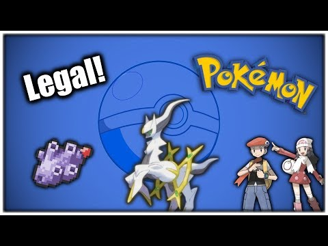[GER] Arceus Legal In Pokémon Diamant & Perl (Tweaking Glitch)